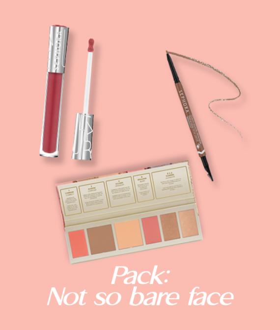 Pack : Not so bare face