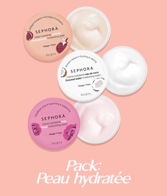 "Pack ""Peau hydratée"""